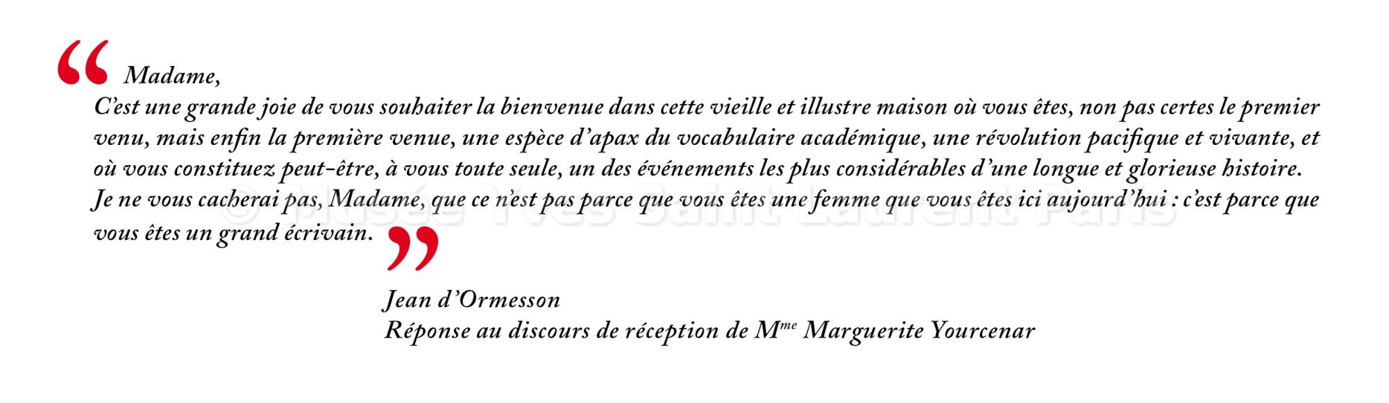 Image Citation Jean D Ormesson